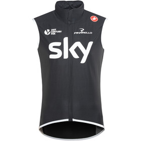Castelli Team Sky Perfetto Wind/Rain Vest Men black